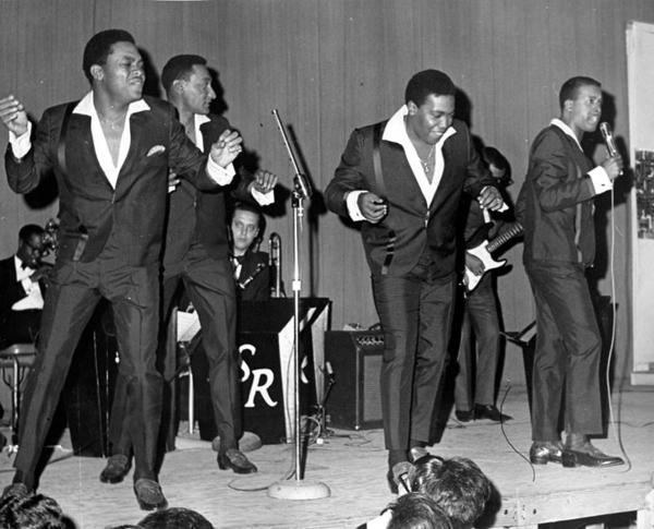 "The Four Tops were among the American soul singers who became popular in the U.K.'s ""Northern Soul"" scene. (Wikimedia Commons)"
