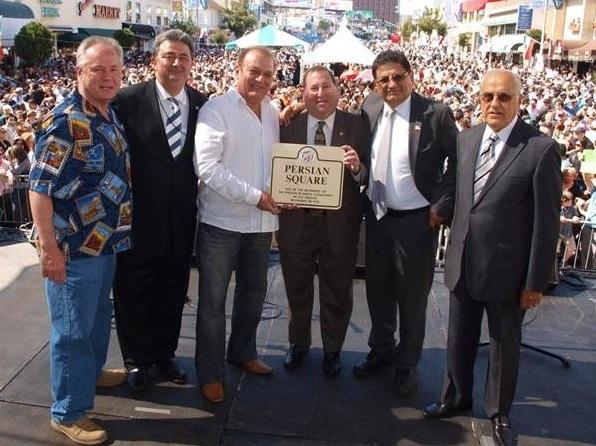 """In 2010, the Los Angeles City Council officially named the corner of Westwood Boulevard and Wilkins Avenue """"Persian Square."""""""