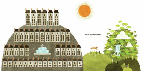 <em>Excerpted from </em>Mr. Tiger Goes Wild<em> by Peter Brown. Copyright 2013 by Peter Brown. Excerpted by permission of Little, Brown Books for Young Readers.</em>