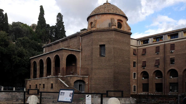Excavation at the Sant'Omobono site in central Rome has provided evidence of early Romans' efforts to transform the landscape of their city.