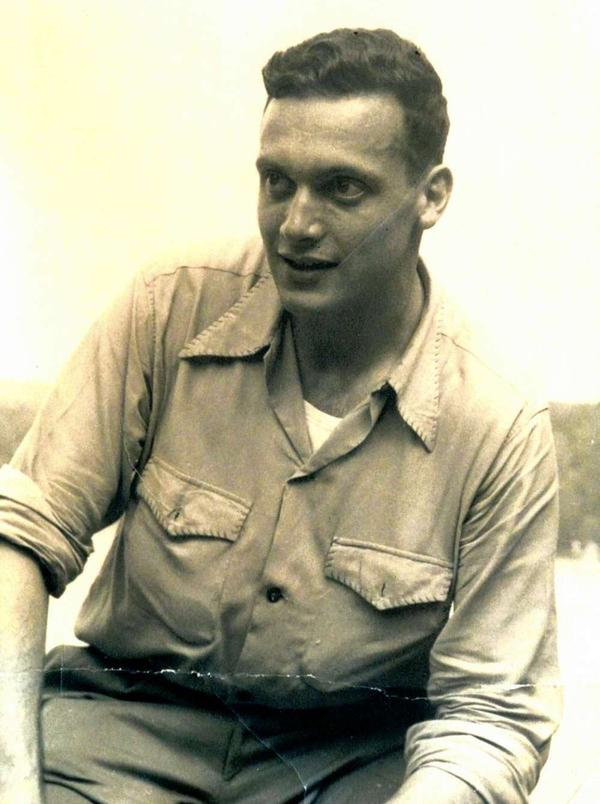 Ettlinger at age 22, after his stint in the army.
