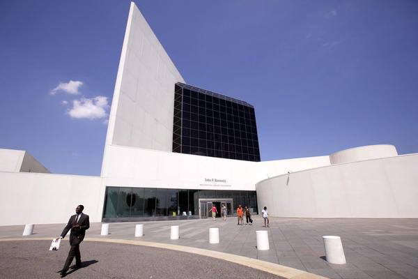 The John F. Kennedy Presidential Library and Museum in Boston.