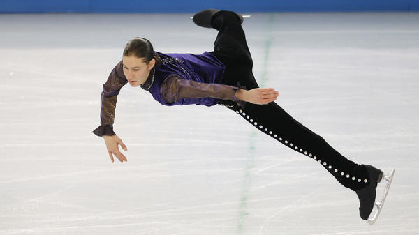 Jason Brown skated to Prince during his short program Thursday.