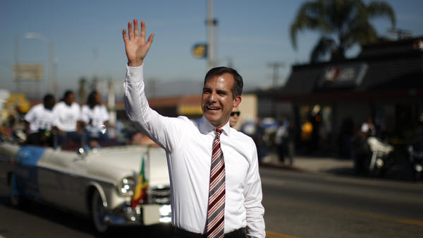 Los Angeles Mayor Eric Garcetti may have only been in office eight months, but he's got big plans.