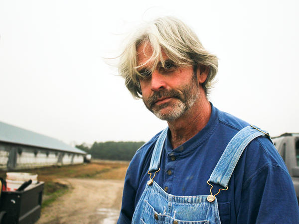 Craig Watts produces chickens for Perdue on his farm in Fairmont, N.C.