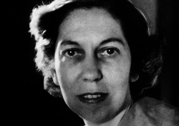 Eudora Welty, novelist and short story writer, is shown here on March 29, 1955. (AP)