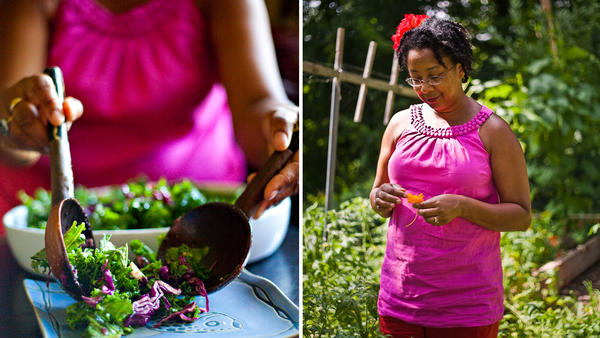 "JuJu Harris is the author of <em><a href=""http://arcadiafood.org/order-arcadia-mobile-market-seasonal-cookbook"">The Arcadia Mobile Market Seasonal Cookbook</a>. A</em> former recipient of government food assistance, she now teaches healthy eating skills to low-income families in Washington, D.C."