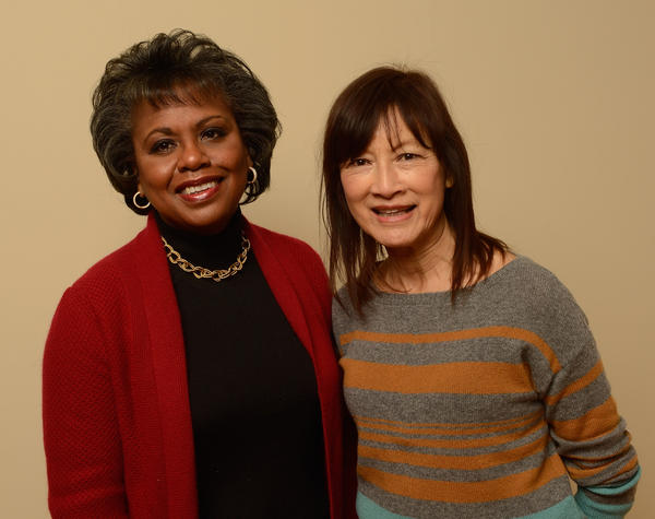 Attorney Anita Hill and director/producer Freida Mock pose for a portrait during the 2013 Sundance Film Festival, January 18, 2013 in Park City, Utah. (Larry Busacca/Getty Images)