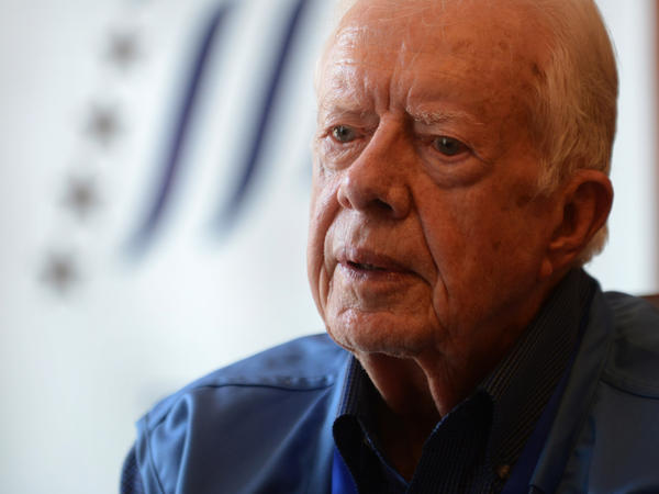 "Jimmy Carter's other books include <a href=""http://www.npr.org/books/titles/137944084/palestine-peace-not-apartheid"">Palestine Peace Not Apartheid</a>, <a href=""http://www.npr.org/books/titles/138426891/sharing-good-times"">Sharing Good Times</a> and <a href=""http://www.npr.org/books/titles/138386988/our-endangered-values-americas-moral-crisis"">Our Endangered Values</a>."