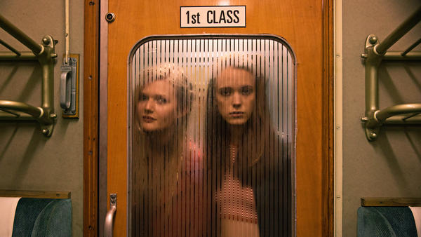 Stacy Martin (right, with Sophie Kennedy Clark) plays the younger version of Charlotte Gainsbourg's sex-addict protagonist in Lars von Trier's <em>Nymphomaniac — </em>a study of sex and intimacy that's calculated, characteristically for this director, to provoke.