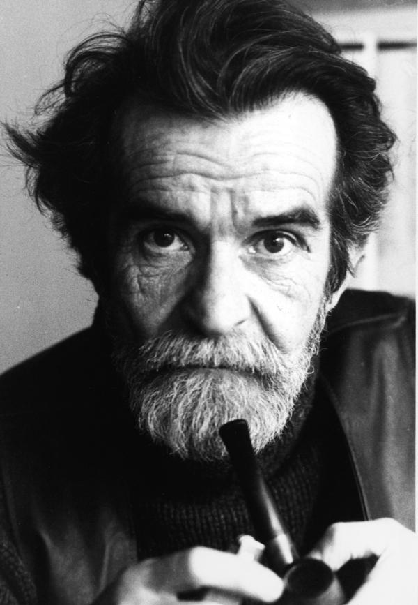 In 1961, South African playwright Athol Fugard put black and white actors on stage together in his breakout play <em>Blood Knot</em>. He's pictured above in the 1970s.