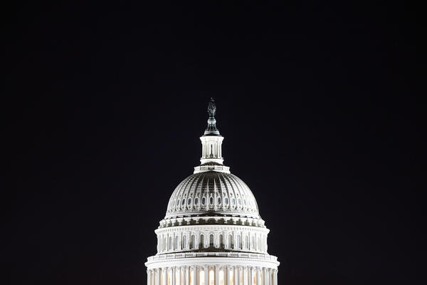The Capitol dome in Washington will undergo renovation this spring, a project that is estimated to take two years and cost nearly $60 million.