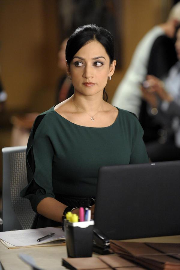 Archie Panjabi plays Kalinda Sharma on CBS's <em>The Good Wife</em>.
