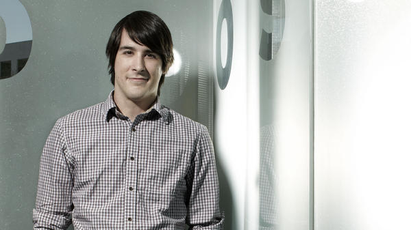 J.G. Quintel is the creator of <em>Regular Show</em> and the voice of one of its main characters, Mordecai.