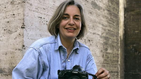 Associated Press photographer Anja Niedringhaus, shown here in 2005, was killed Friday in Khost, Afghanistan. AP reporter Kathy Gannon was injured. Both have covered Afghanistan for many years.