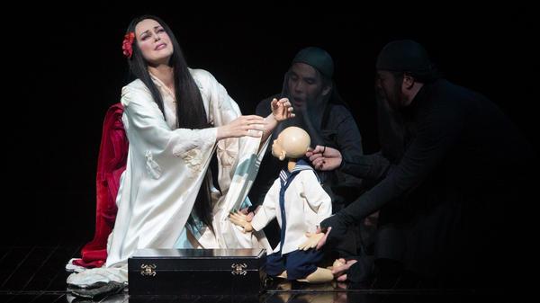 Kristine Opolais made her <em>Madama Butterfly</em> debut as Cio-Cio-San, only to get a last-minute call to play Mimi in <em>La Boheme</em>.