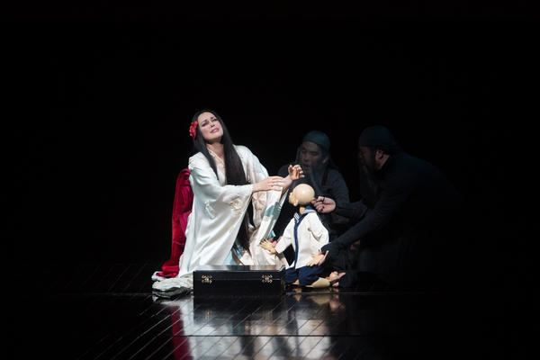On Friday night, soprano Kristine Opolais starred in Puccini's <em>Madama Butterfly</em> for the first time at New York's Metropolitan Opera ...