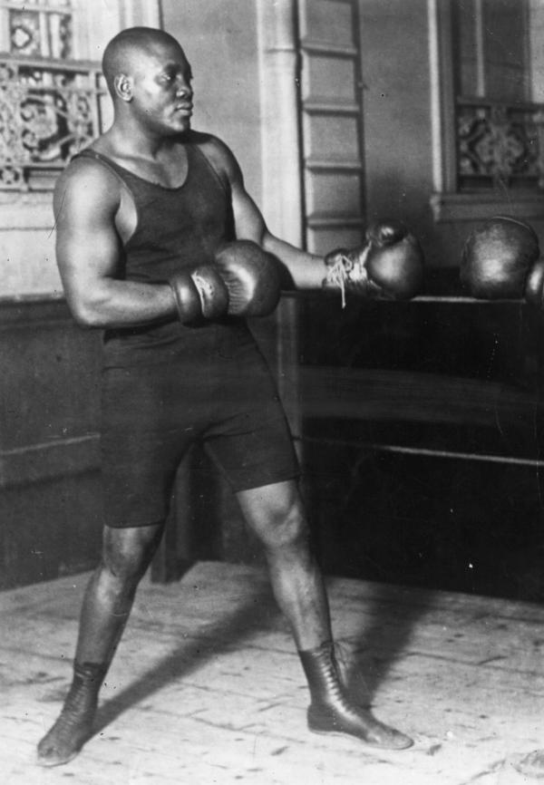 In the ring, Johnson was a master of defense, with a powerful knockout punch and an unprecedented talent for talking trash.