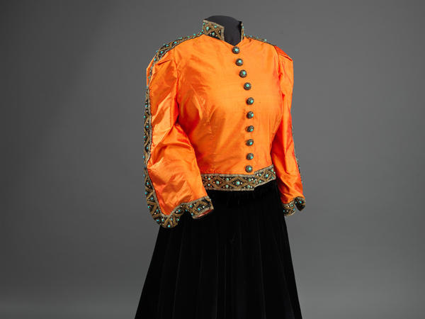 The outfit, a shantung silk blouse and black silk velvet skirt, is now part of the collection of the National Museum of African American History and Culture in Washington. It was a gift from Ginette DePreist in memory of her husband, the conductor James DePreist, Anderson's nephew.