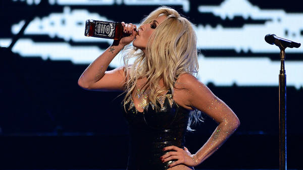 Singer Ke$ha performs during the iHeartRadio Music Festival at the MGM Grand Garden Arena in Las Vegas in September.