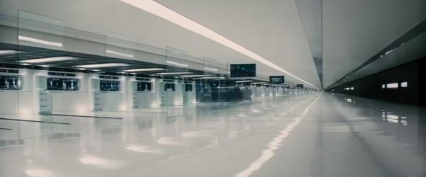 A sterile corridor.
