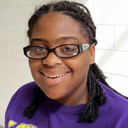 Jazmine Thompson attends Central High School.