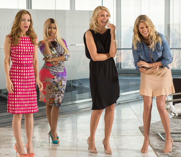 Leslie Mann, Nicki Minaj, Cameron Diaz and Kate Upton have nothing to do in <em>The Other Woman</em>.
