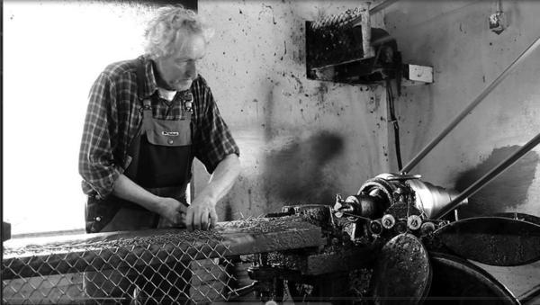 One sound recorded for the project is that of a fence-making machine. (Torsten Nilsson/Museum of Work)