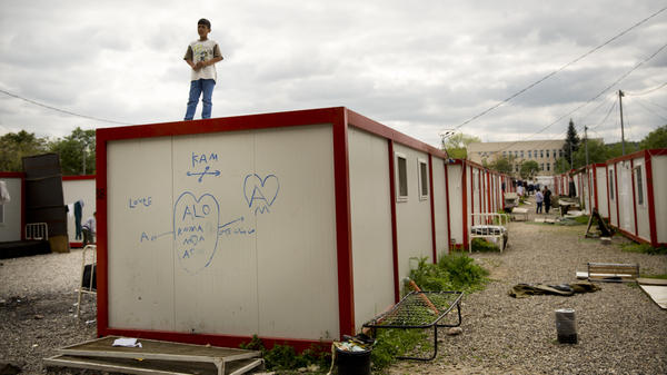 At Harmanli Camp in Bulgaria, hundred of asylum seekers — mostly from Syria and Afghanistan — live in reconfigured shipping containers and decommissioned military schools. The poor country is ill-equipped to deal with the influx of refugees from Syria.