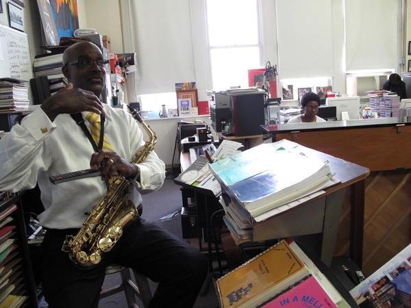 Davey Yarborough has led the jazz program at Duke Ellington School of the Arts since 1986.