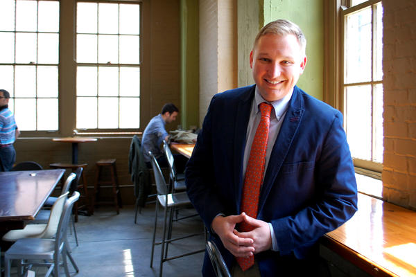 """""""Generally, this is a place where as a gay person or gay family, you can feel welcome,"""" says Chris Seelbach, the city's first openly gay city councilman."""