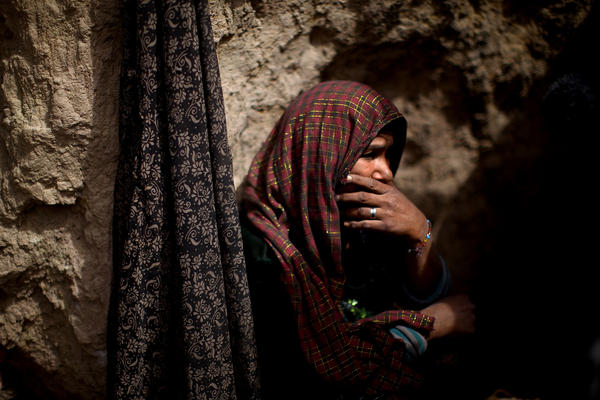 Zahra, who goes by her first name only, used to make carpets and worked as a maid. But her sister introduced her to drugs, and now both are heroin addicts. Zahra also has a 10-year-old daughter who is addicted.