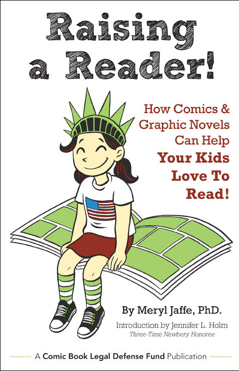 The cover of Raising A Reader.