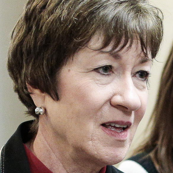 Susan Collins of Maine is the most senior Republican woman in the Senate.
