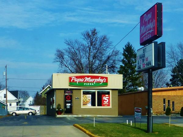 Papa Murphy's is a chain that sells take-and-bake pizza. It built its name on low prices, and a willingness to accept food stamps. But now that may be in jeopardy.