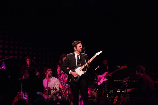 Hamilton Leithauser, performing live at Joe's Pub in New York City, Apr. 16.