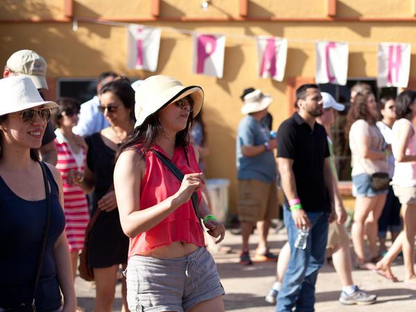 An unusually hot, pre-summer Texas sun didn't keep music fans from seeking out their favorite Latin Alternative artists.