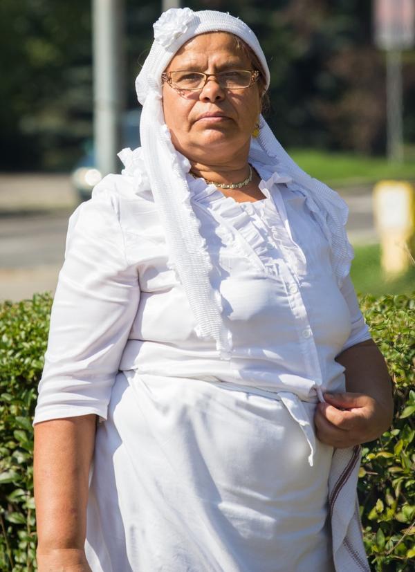 Djevrija Mazrek, one of the restaurant's cooks, was unemployed for 20 years before Romani Kafenava hired her.