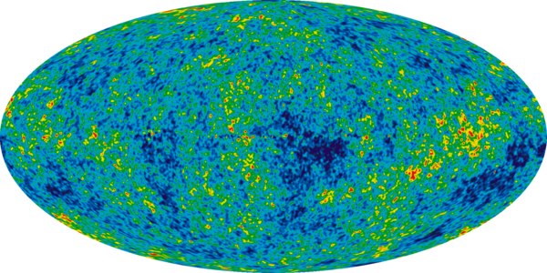 NASA's second satellite, launched in 2001, provided a more detailed view of ripples in the microwaves. The ripples correspond to matter that eventually turned into galaxies.