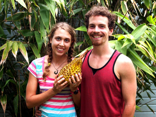 Lindsay Gasik and Rob Culclasure moved to Asia in 2012 to pursue durians.