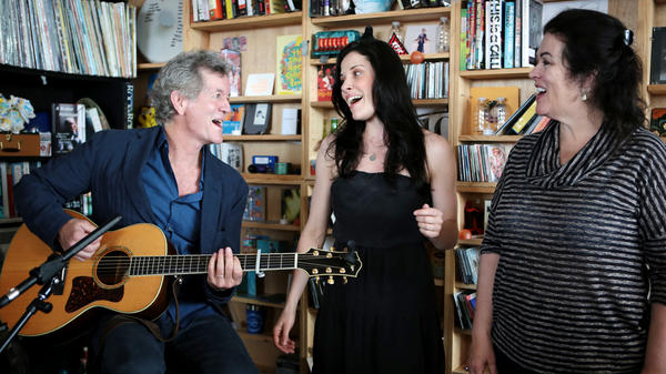 Rodney Crowell performs at a Tiny Desk in May 2014.