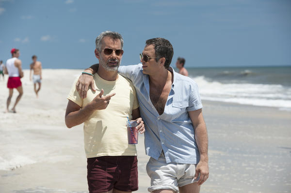 In the HBO adaptation of Larry Kramer's 1985 play, <em>The Normal Heart</em>, Mark Ruffalo (right) plays Ned Weeks, who begins to seek answers after he observes a mysterious disease claiming lives in his gay community. Joe Mantello plays a member of the AIDS service organization, Gay Men's Health Crisis.