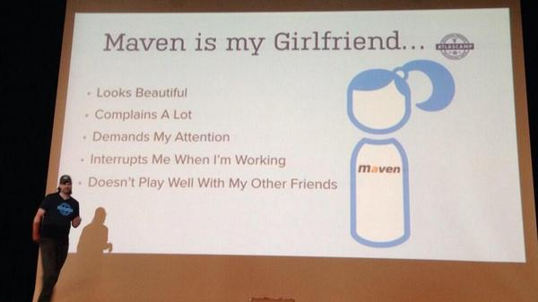 A slide from a presentation at a tech conference in Berlin.