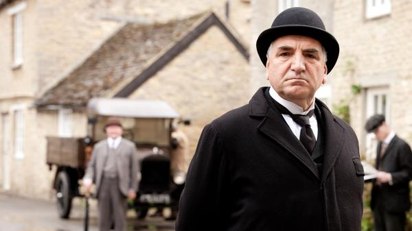 Jim Carter as Mr. Carson in <em>Downton Abbey, </em>which has helped fuel a growing demand for butlers around the world.