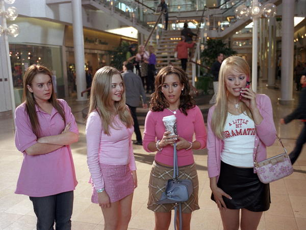As Lindsay Lohan's character (far left) learned in the movie <em>Mean Girls</em>, popularity comes at a price.