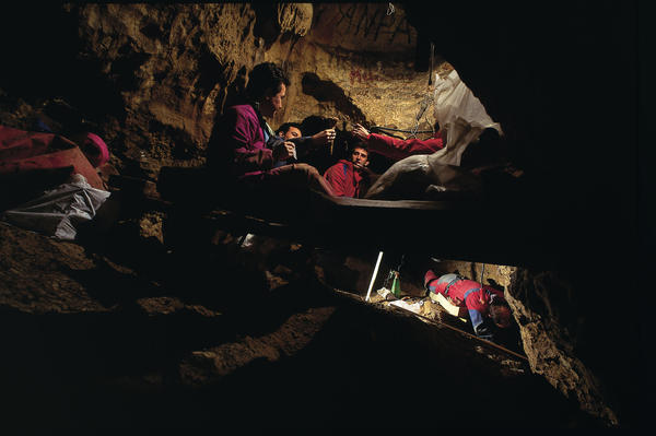 This cave in Spain — the Sima de los Huesos site — has yielded the biggest collection of ancient human fossils ever recovered from a single site.