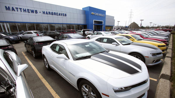 Chevrolet dealerships like this one might actually benefit from General Motors' recall of millions of cars — as long as customers don't have to wait too long for their repairs.