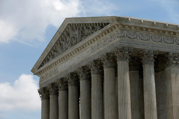 The U.S. Supreme Court is shown June 25, 2014 in Washington, DC.  (Win McNamee/Getty Images)