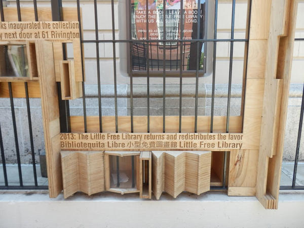 Little Free Library NYC at Rivingston and Eldridge St. (panda073/Flickr)