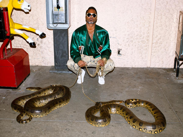 Shabazz Palaces' new record, <em>Lese Majesty</em>, comes out July 29.